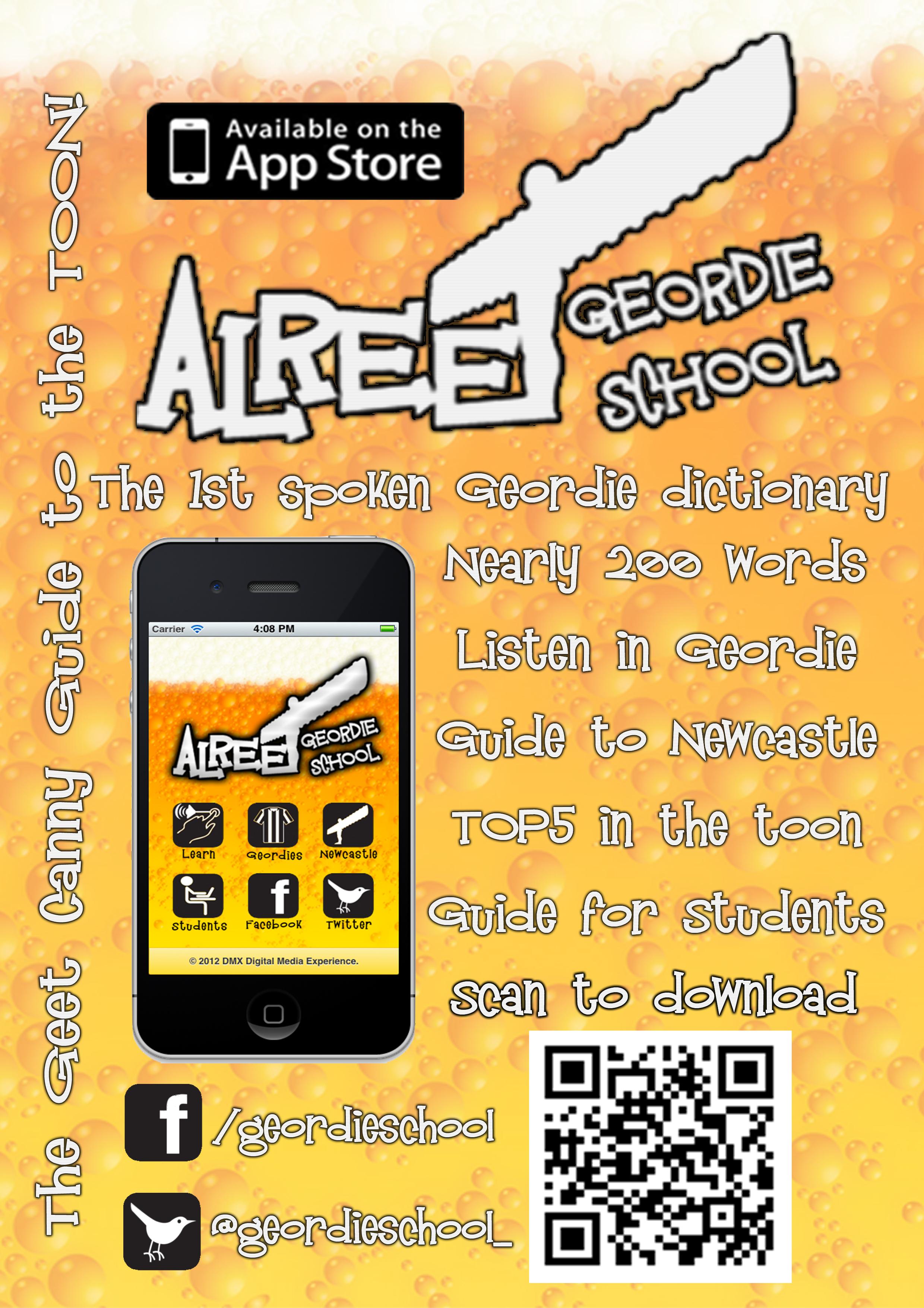 Alreet Geordie School Poster