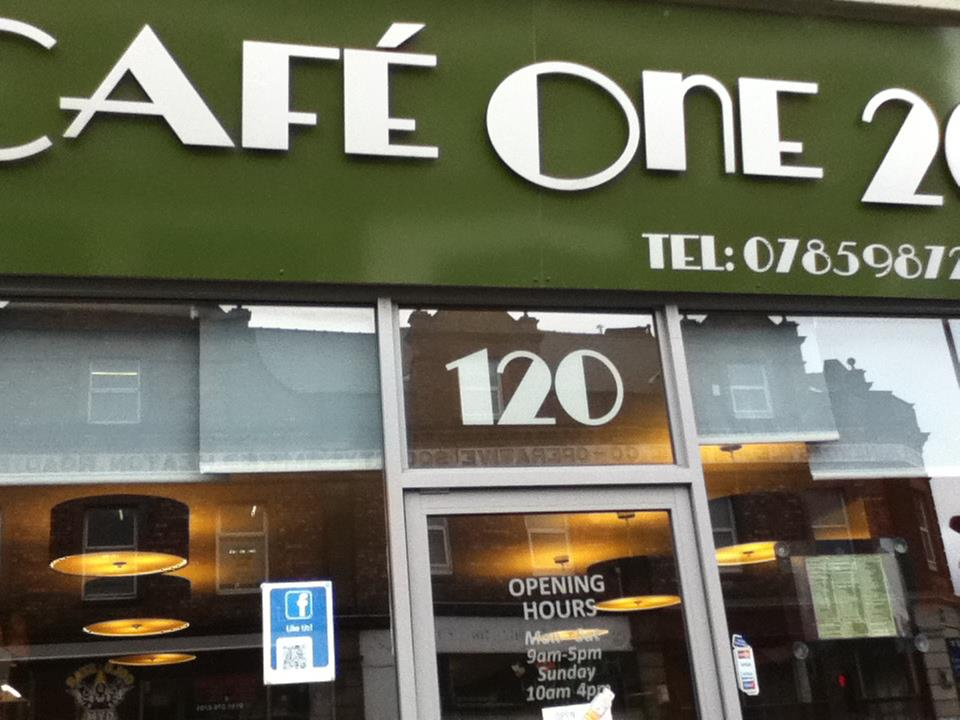 Cafe One 20 – Newcastle upon Tyne – A4 Poster (Laminated)