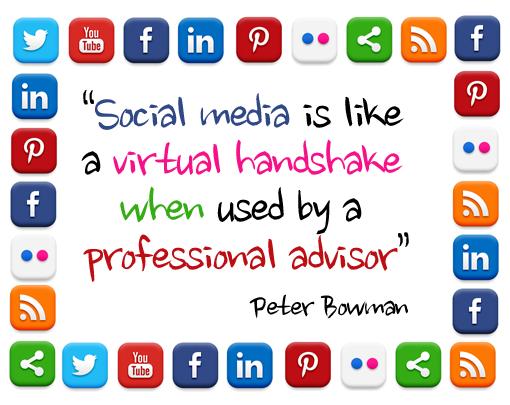 Social Media Quote Peter Bowman