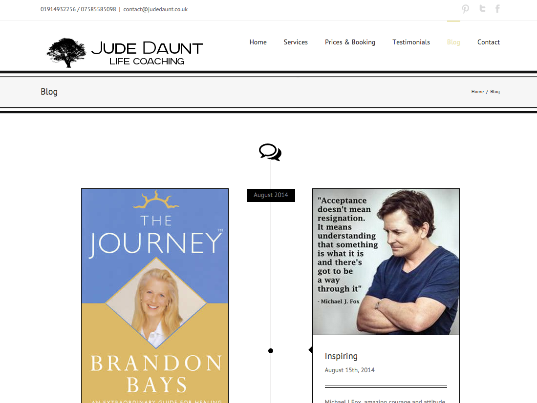 Jude Daunt Life Coaching